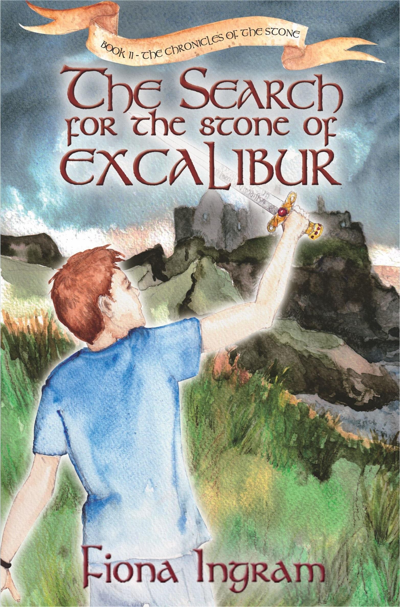 children's book, excalibur, fantasy