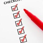 BS Checklist