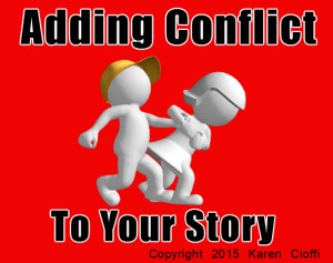 Fiction witing and conflict