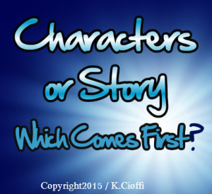 Characters or story, which comes first?