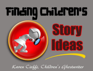 Children's writing and finding ideas