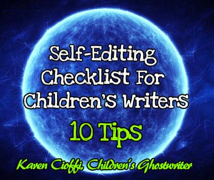 10 Self-Editing Tips