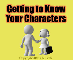 Fiction Writing and Characters