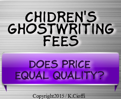 Fees for ghostwriting a children's book