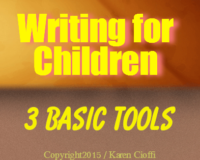 Tools to help your write for children