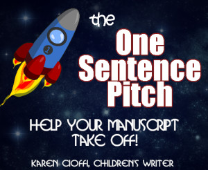 Your manuscript's one sentence pitch