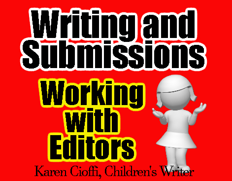 Tips on working with writing editors