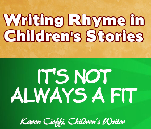 Rhyming in stories.