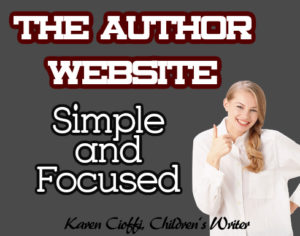 Creating an author website