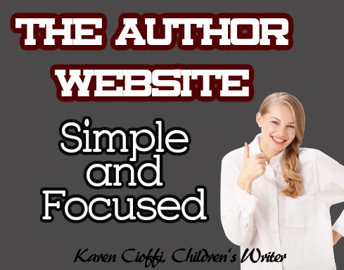 Creating an author website
