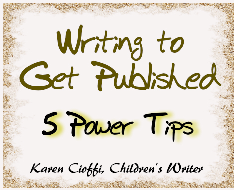 Tips on writing to get published