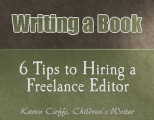 Six tips to hiring a freelance editor for your manuscript