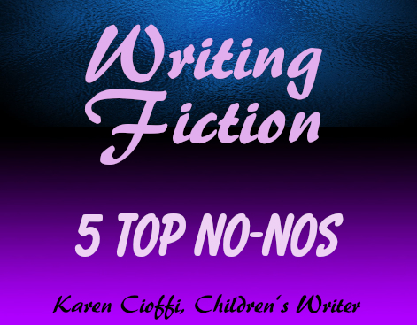 Fiction writing mistakes to avoid.