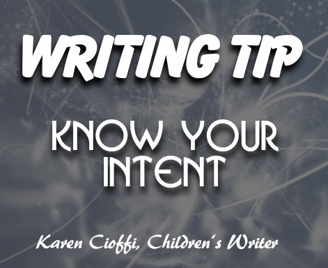 Know where you want your writing to go