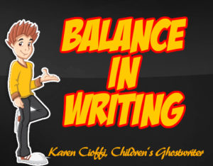 Writing elements needed for balanced writing