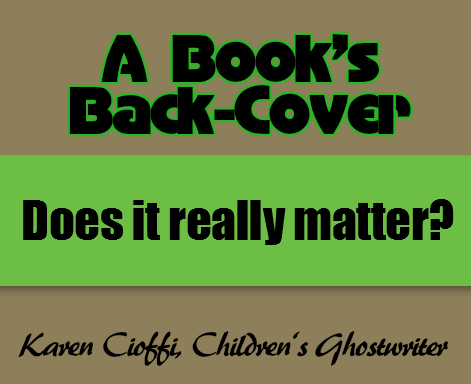 Creating your book's back cover