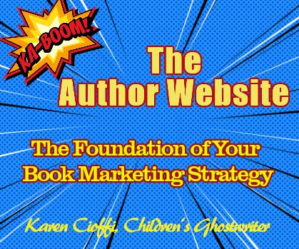 Optimized Author Website