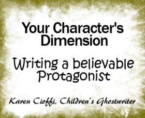Is your character fully dimensional?